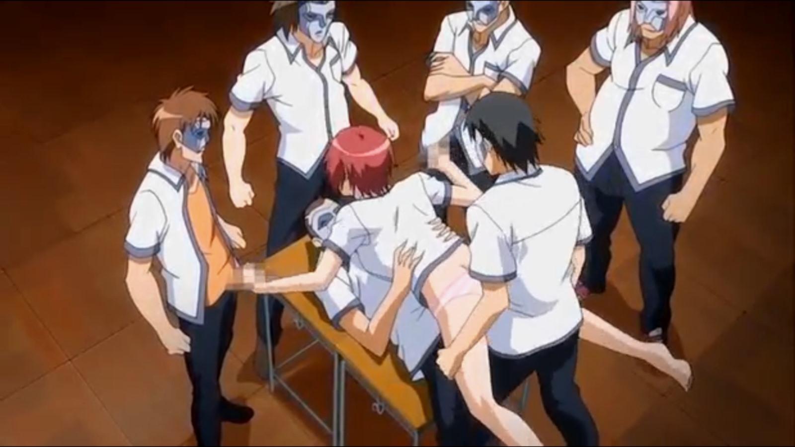 Hentai brutal rape